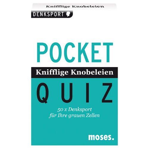 Philip Kiefer - Pocket Quiz Knifflige Knobeleien: 50 x Denksport für Ihre grauen Zellen: 50 x Denksport fÃ1/4r Ihre grauen Zellen - Preis vom 16.06.2021 04:47:02 h