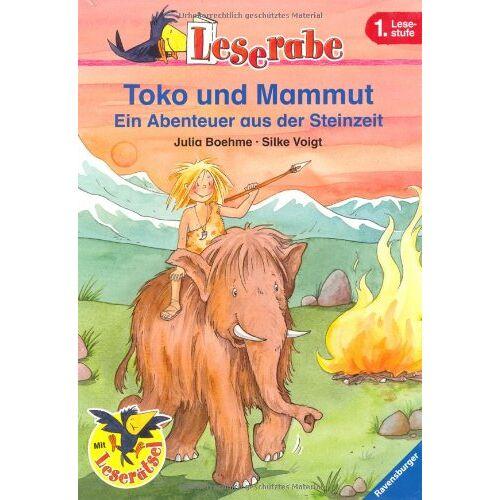 Julia Boehme - Leserabe. 1. Lesestufe: Toko und Mammut: Ein Abenteuer aus der Steinzeit - Preis vom 19.06.2021 04:48:54 h