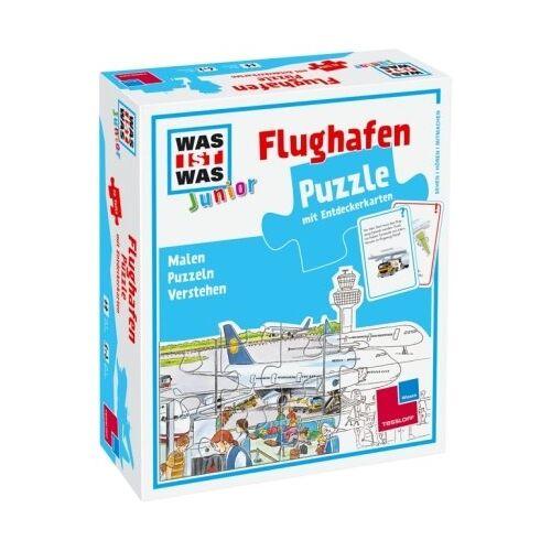 - WAS IST WAS Junior, Puzzle: Flughafen - Preis vom 20.06.2021 04:47:58 h