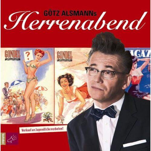 Götz Alsmann - Götz Alsmanns Herrenabend - Preis vom 11.06.2021 04:46:58 h