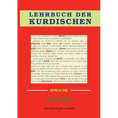 Barnas, Dr. Usso Bedran - Lehrbuch der kurdischen Sprache - Preis vom 22.06.2021 04:48:15 h