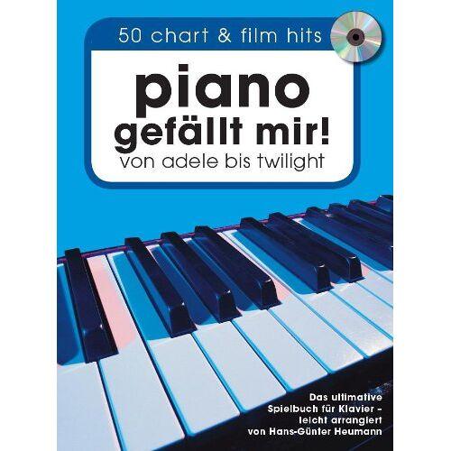 Hans-Günter Heumann - Piano gefällt mir! 50 Chart und Film Hits von Adele bis Twilight. Mit CD: 50 Chart und Film Hits von Adele bis Twilight. Mit CD. Songbook Klavier - Preis vom 19.06.2021 04:48:54 h