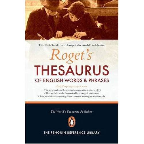 Peter Roget - Roget's Thesaurus of English Words and Phrases: Of English Words & Phrases - Preis vom 20.06.2021 04:47:58 h