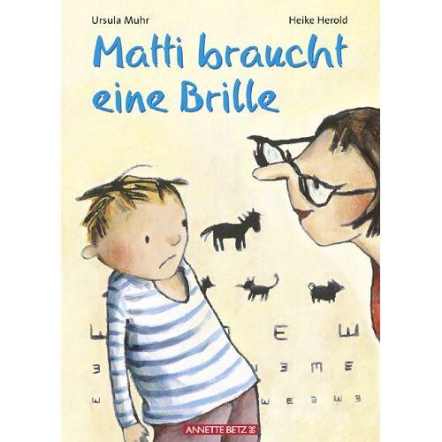 Ursula Muhr - Matti braucht eine Brille - Preis vom 13.06.2021 04:45:58 h