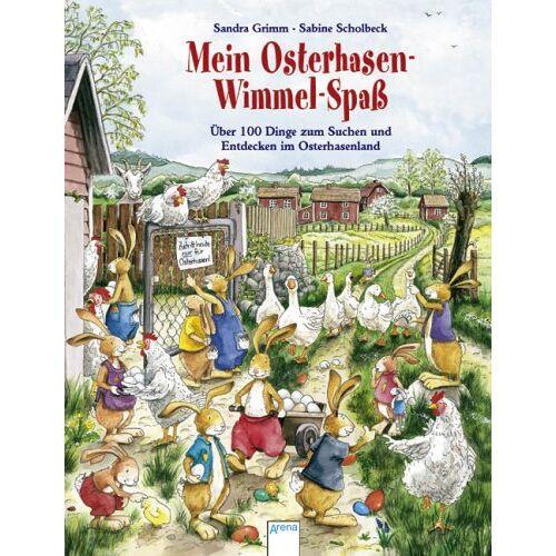 Sandra Grimm - Mein Osterhasen-Wimmel-Spaß: Über 100 Dinge zum Suchen und Entdecken im Osterhasenland - Preis vom 17.05.2021 04:44:08 h