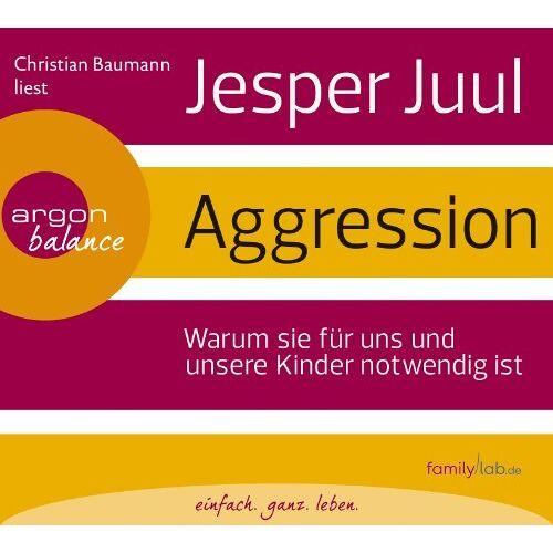 Jesper Juul - Aggression - Preis vom 24.07.2021 04:46:39 h