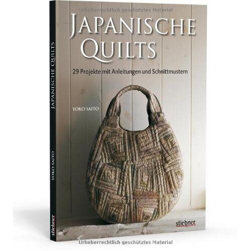 Yoko Saito - Japanische Quilts - 29 Projekte mit Anleitungen und Schnittmustern - Preis vom 21.06.2021 04:48:19 h