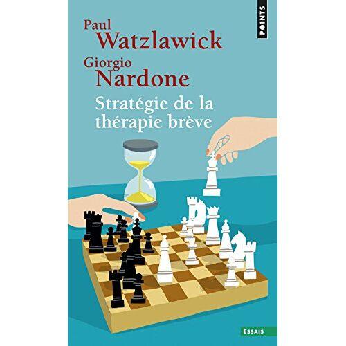 Paul Watzlawick - Stratégie de la thérapie brève - Preis vom 20.10.2021 04:52:31 h