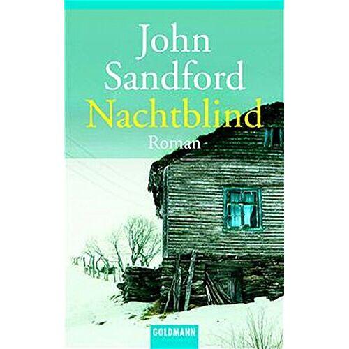 John Sandford - Nachtblind (Goldmann Allgemeine Reihe) - Preis vom 17.06.2021 04:48:08 h