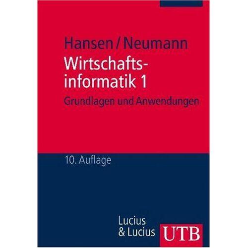 Hansen Wirtschaftsinformatik 1 - Preis vom 18.06.2021 04:47:54 h