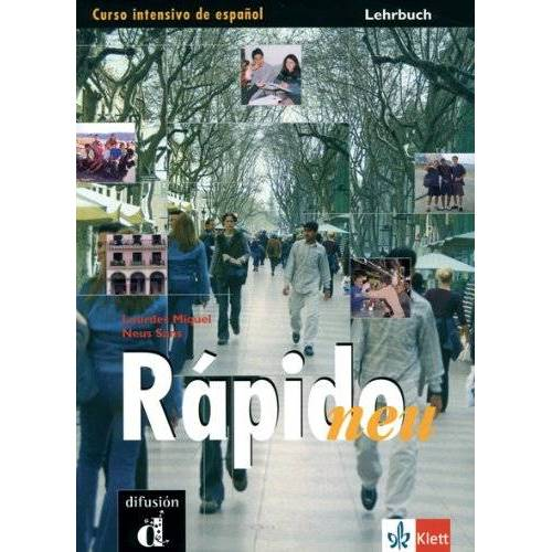 Lourdes Miquel - Rápido: Rapido Neu. Lehrbuch: Curso Intensivo de espanol - Preis vom 23.09.2021 04:56:55 h