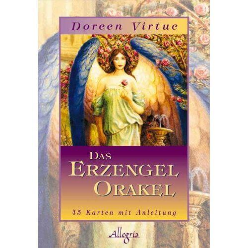 Doreen Virtue - Das Erzengel Orakel: Mit Anleitung - Preis vom 11.06.2021 04:46:58 h