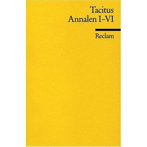 Tacitus - Annalen: Bd 1-6 - Preis vom 12.06.2021 04:48:00 h