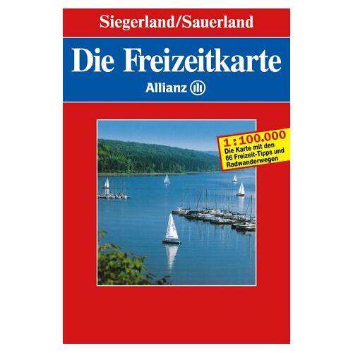 - Die Freizeitkarte Allianz, Bl.15, Siegerland, Sauerland - Preis vom 22.06.2021 04:48:15 h