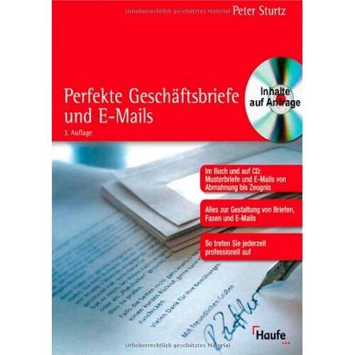 Peter Sturtz - Perfekte Geschäftsbriefe - Preis vom 22.06.2021 04:48:15 h