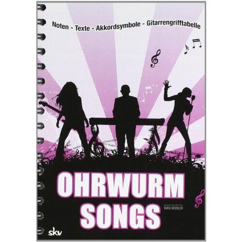 Sven Kessler - Ohrwurm-Songs: Noten-Texte-Akkordsymbole-Gitarrengriffe - Preis vom 21.06.2021 04:48:19 h