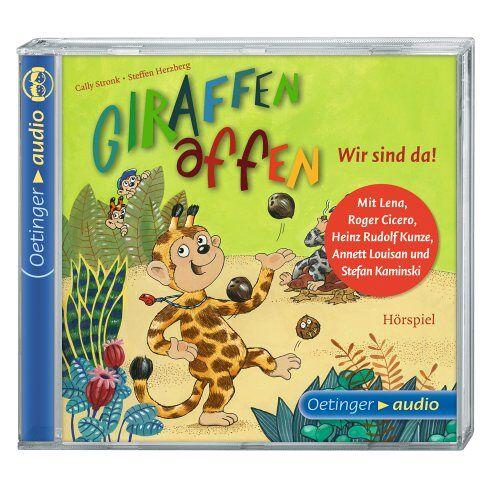 Cally Stronk - Giraffenaffen-Wir Sind Da - Preis vom 11.06.2021 04:46:58 h