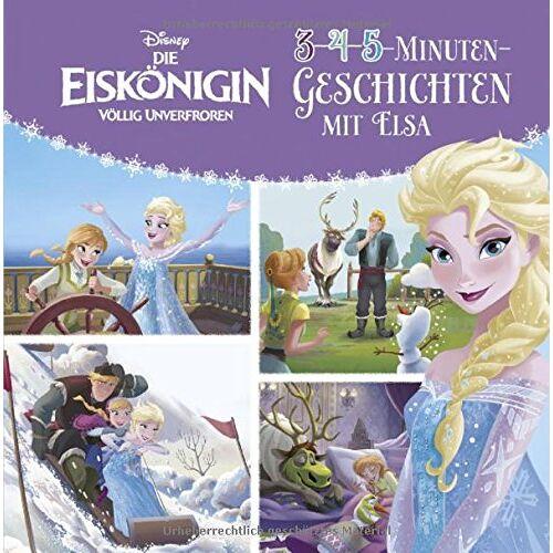 - Disney Die Eiskönigin: 3-4-5-Minuten-Geschichten mit Elsa (Disney Eiskönigin) - Preis vom 18.10.2021 04:54:15 h