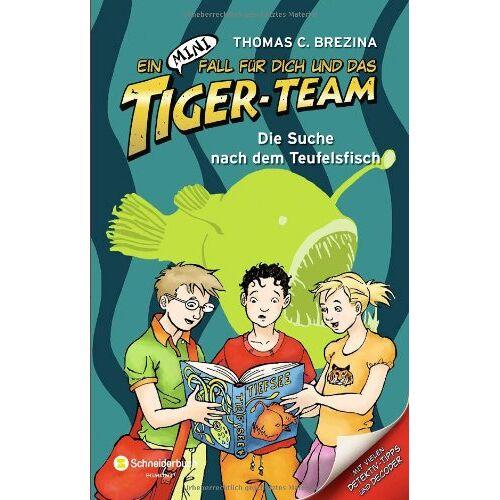 Brezina, Thomas C. - Ein MINI-Fall für dich und das Tiger-Team, Band 04: Die Suche nach dem Teufelsfisch - Preis vom 14.06.2021 04:47:09 h