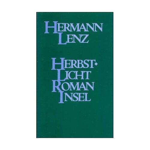 Hermann Lenz - Herbstlicht: Roman - Preis vom 09.06.2021 04:47:15 h