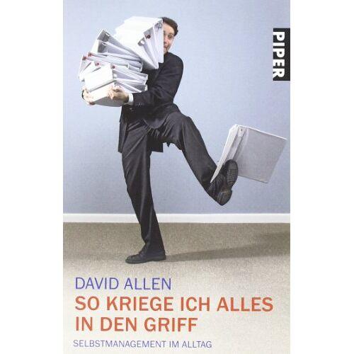 David Allen - So kriege ich alles in den Griff: Selbstmanagement im Alltag - Preis vom 01.08.2021 04:46:09 h