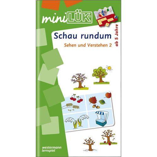 Heinz Vogel - miniLÜK: Schau rundum: Sehen und Verstehen 2: Schau rundum. Schuljahr 1-2 - Preis vom 13.06.2021 04:45:58 h