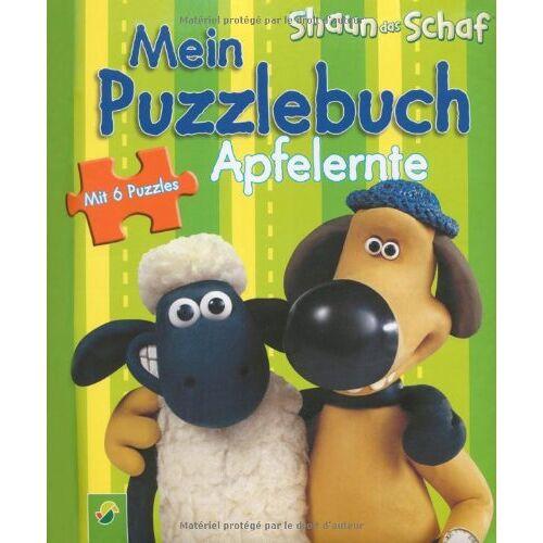 - Shaun das Schaf: Mein Puzzlebuch Apfelernte: 6 Puzzles zu je 6 Teilen - Preis vom 11.10.2021 04:51:43 h