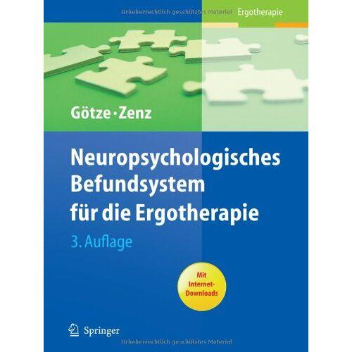 Renate Götze - Neuropsychologisches Befundsystem für die Ergotherapie - Preis vom 23.09.2021 04:56:55 h