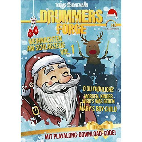 Tobias Schönemann - Drummers Forge: Weihnachten am Schlagzeug: Bekannte Weihnachtslieder für Snaredrum und Schlagzeug - Preis vom 13.06.2021 04:45:58 h