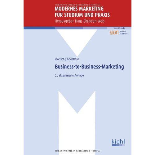 Waldemar Pförtsch - Business-to-Business-Marketing - Preis vom 11.06.2021 04:46:58 h