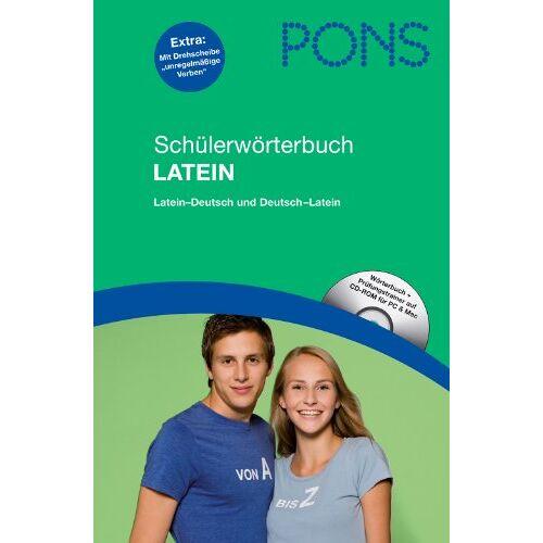 Anette Dralle - PONS Schülerwörterbuch Latein: Latein-Deutsch / Deutsch-Latein, mit CD-Rom für PC und Mac - Preis vom 15.06.2021 04:47:52 h