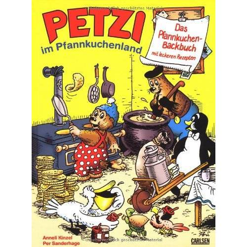 Per Sanderhage - Das Pfannkuchen-Backbuch: Petzi im Pfannkuchenland - Preis vom 17.05.2021 04:44:08 h