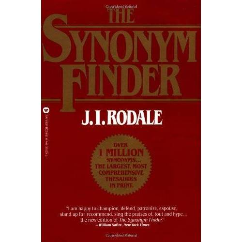 Rodale, J. I. - The Synonym Finder - Preis vom 08.06.2021 04:45:23 h