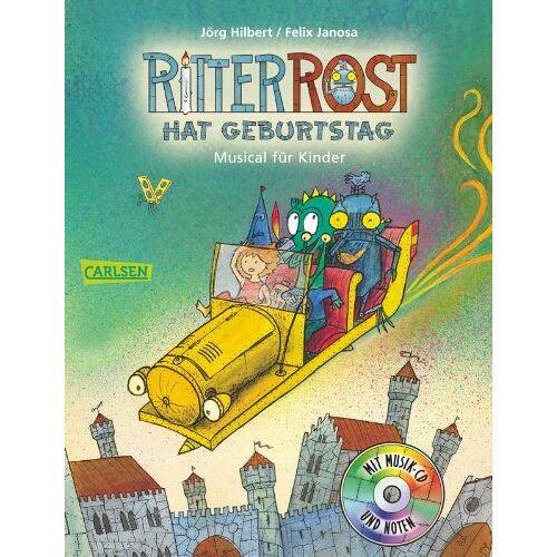 Jörg Hilbert - Ritter Rost: Ritter Rost hat Geburtstag: Buch mit CD - Preis vom 16.06.2021 04:47:02 h