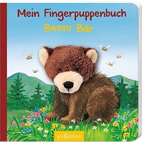 Andrea Gerlich - Mein Fingerpuppenbuch - Benni Bär (Fingerpuppenbücher) - Preis vom 15.10.2021 04:56:39 h