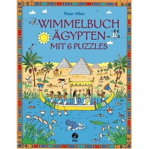 Peter Allen - Wimmelbuch Ägypten: Mit 6 Puzzles - Preis vom 02.08.2021 04:48:42 h