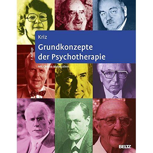Jürgen Kriz - Grundkonzepte der Psychotherapie: Mit Online-Materialien zum Download - Preis vom 12.10.2021 04:55:55 h