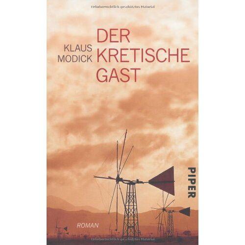 Klaus Modick - Der kretische Gast: Roman - Preis vom 18.05.2021 04:45:01 h