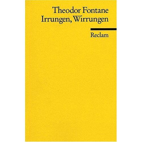 Theodor Fontane - Irrungen Wirrungen - Preis vom 20.06.2021 04:47:58 h