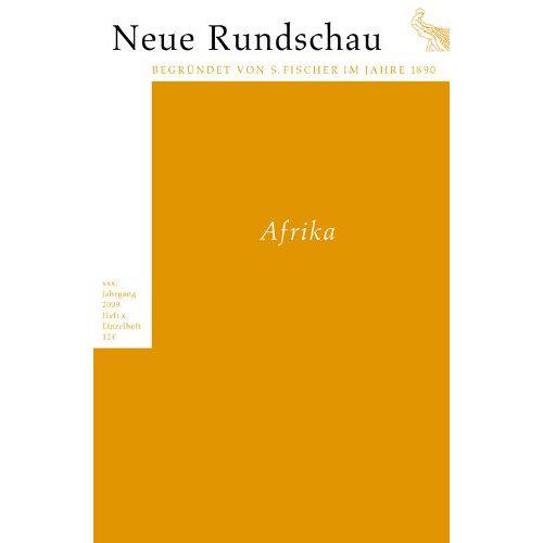 Markus Kessel - Neue Rundschau 2009/2: Afrika - Preis vom 09.06.2021 04:47:15 h