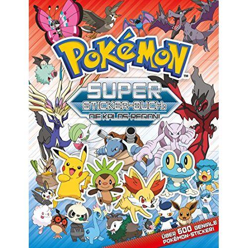 - Pokémon: Super Stickerbuch - Kalos: Stickerbuch mit über 600 Stickern - Preis vom 23.09.2021 04:56:55 h