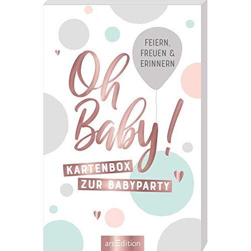 - Oh Baby!: Kartenbox zur Babyparty. Zum Feiern, Freuen und Erinnern - Preis vom 15.09.2021 04:53:31 h