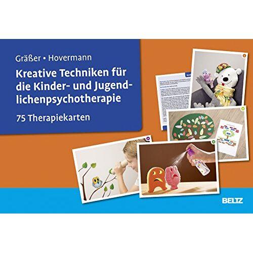 Melanie Gräßer - Kreative Techniken für die Kinder- und Jugendlichenpsychotherapie: 75 Therapiekarten. Kartenset mit 75 Bildkarten und 36-seitigem Booklet. Mit Online-Material - Preis vom 19.06.2021 04:48:54 h