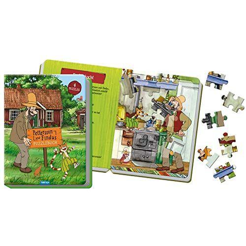 Trötsch Verlag GmbH & Co. KG - Puzzlebuch Pettersson und Findus: 4 Puzzles, 21 x 28 cm - Preis vom 03.08.2021 04:50:31 h