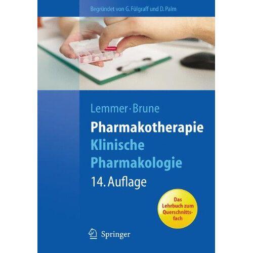 Palm Pharmakotherapie: Klinische Pharmakologie (Springer-Lehrbuch) - Preis vom 01.08.2021 04:46:09 h