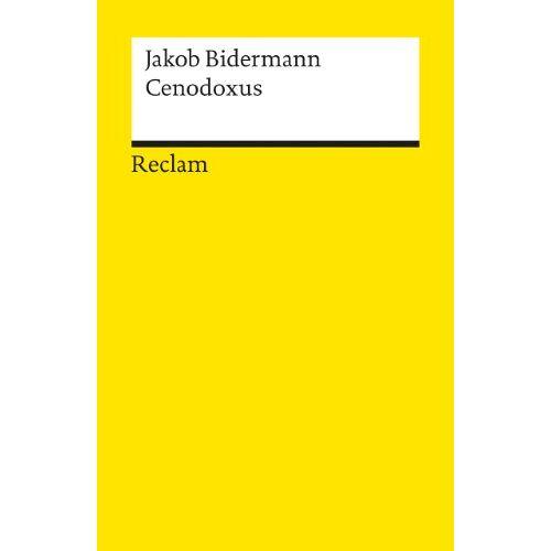 Jakob Bidermann - Cenodoxus - Preis vom 16.10.2021 04:56:05 h