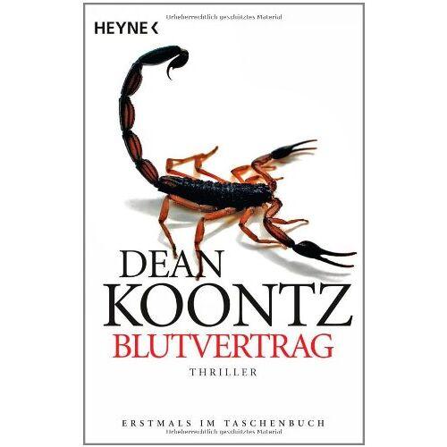 Dean Koontz - Blutvertrag: Roman - Preis vom 12.06.2021 04:48:00 h