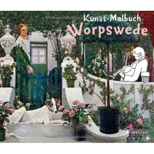 Annette Roeder - Kunst-Malbuch Worpswede - Preis vom 21.06.2021 04:48:19 h