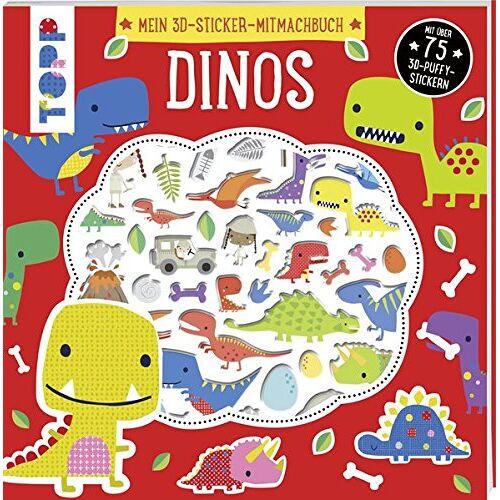 - Mein 3D-Sticker-Mitmachbuch: Dinos: Mit über 75 3D-Puffy-Stickern - Preis vom 09.05.2021 04:52:39 h