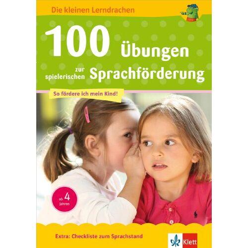 - 100 Übungen zur spielerischen Sprachförderung: ab 4 Jahren - Preis vom 08.05.2021 04:52:27 h